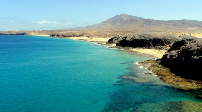 Papagayo beaches, Lanzarote