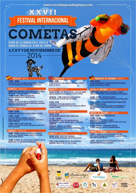 FuerteCharter | XXVII International kites Festival in Fuerteventura
