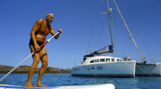SUP practical guide for our FuerteCharter boat trips